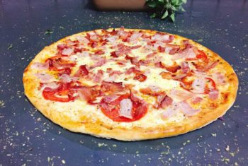 1 - Bacon Pizza