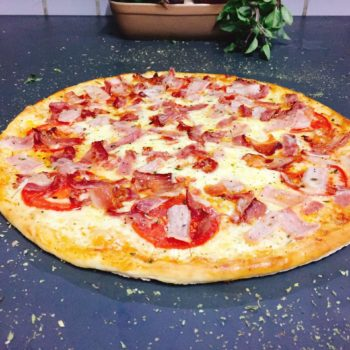 1 - Pizza de Bacon