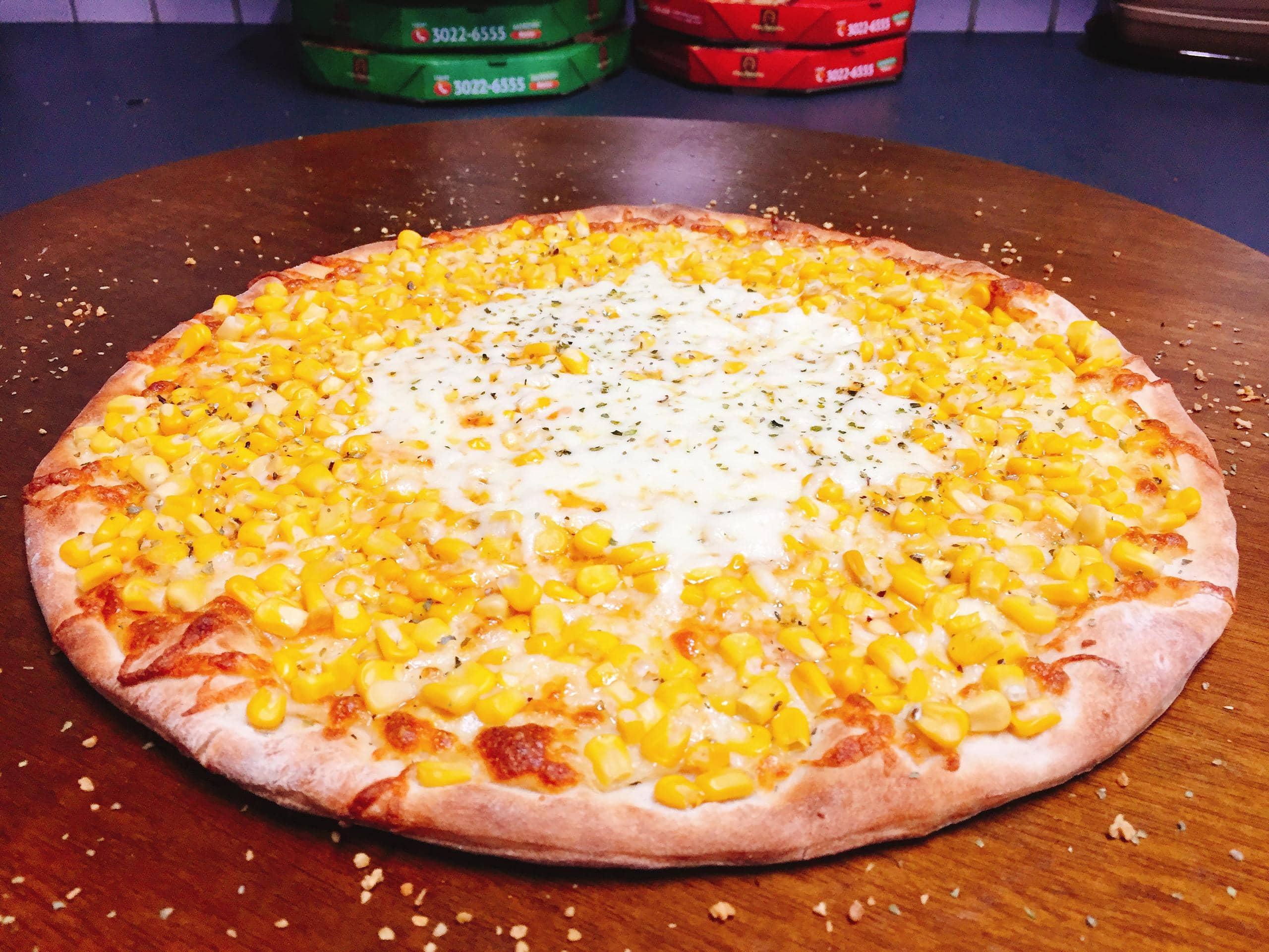 Pizza Milho Verde