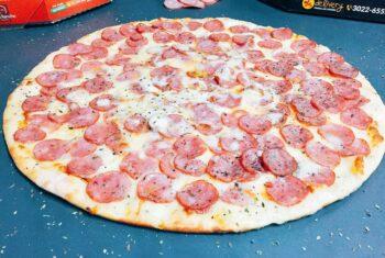 1 - Pizza Calabresa Tradicional