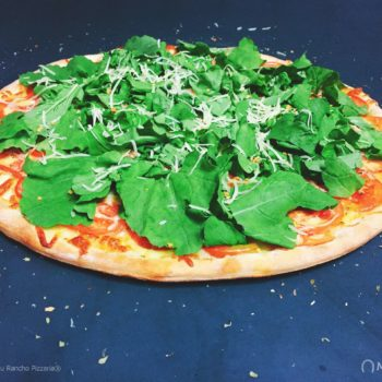 Pizza Rúcula - Pizzas Tradicionais - Pizzaria Meu Rancho