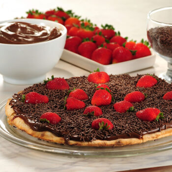 Pizza Chocolate com Morango