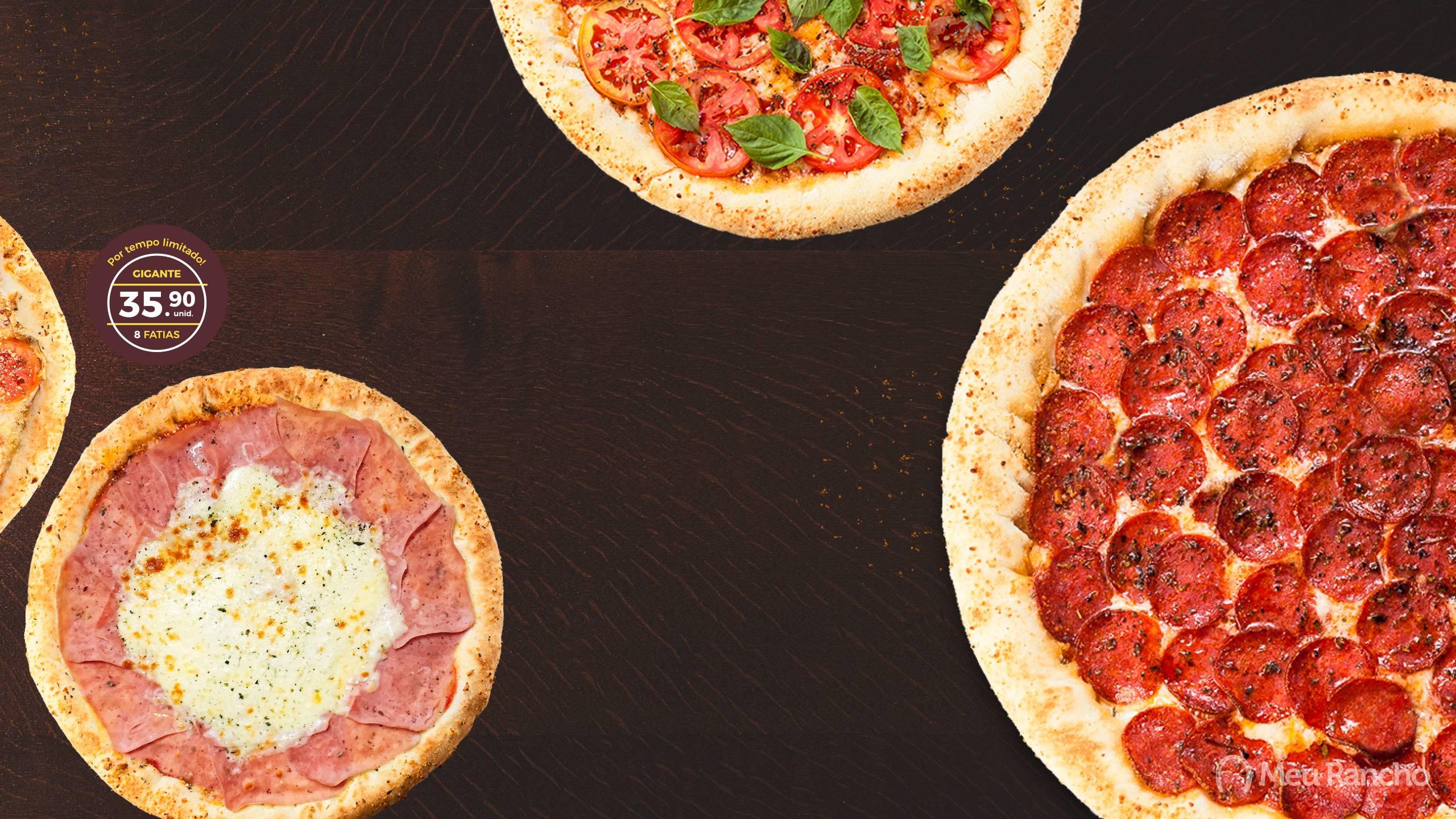 Promoção Pizza sem pesar no bolso - Pizzaria Meu Rancho